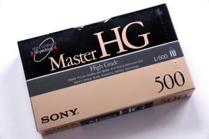 ベータマックス・ビデオテープのパッケージ