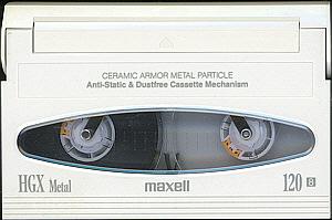 maxell HGX Metal 120