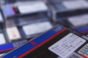 カビありの8mmビデオテープ