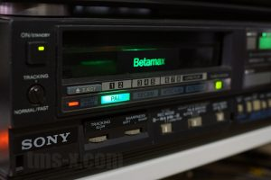 PAL Betamax vcr