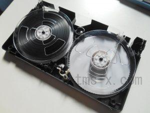 VHS クリーニング後
